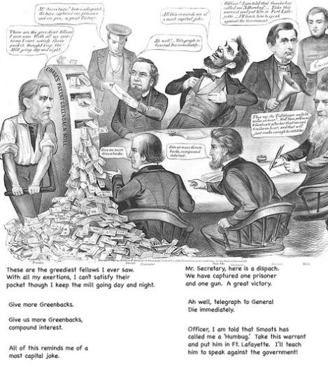 milling_greenbacks_cartoon_1863