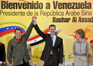 VENEZUELA-SYRIA-CHAVEZ-ASSAD