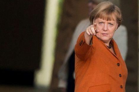German Chancellor Angela Merkel-1375377