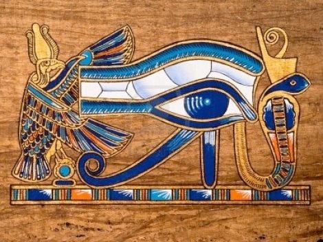 13203533-egyptian-papyrus-depicting-the-horus-eye